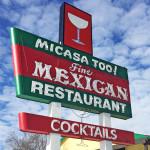 Mi Casa Too Sign on 4th Street in Reno